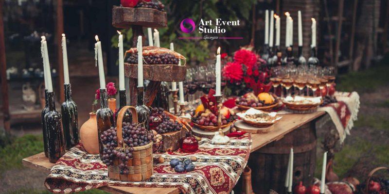 Etno Tsiskivli - ресторан для свадьбы в Тбилиси