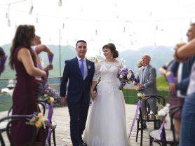 Свадьба в Грузии - горы