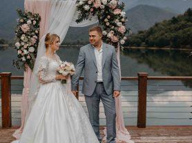 Свадьба в Грузии у озера