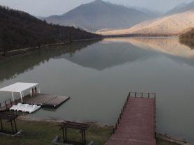 свадьба на горном озере в грузии