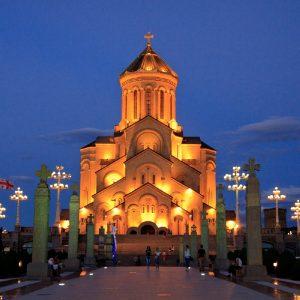 Самеба в Тбилиси